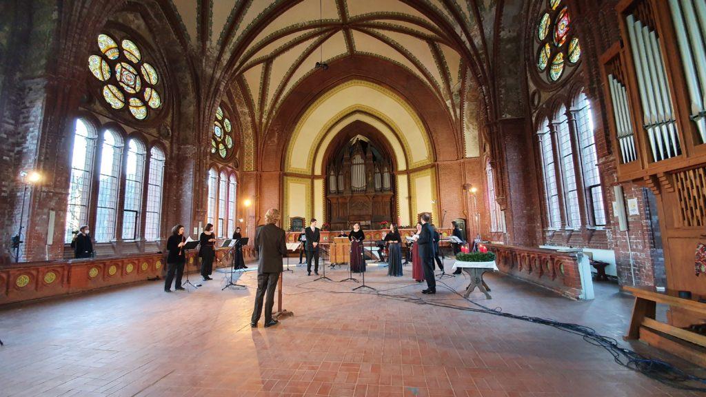 SBO_Videoaufnahme Online-Weihnachtskonzert 2020 in der Heilandskirche Leipzig
