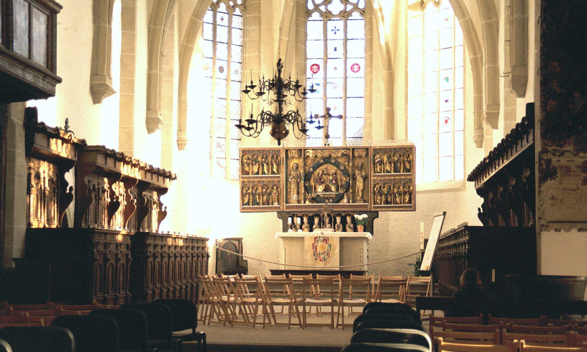St. Stephani Kirche Osterwieck Altarraum (c) Wikimedia Commons